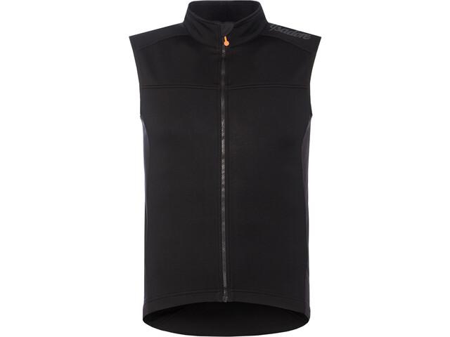 Isadore Merino Membrane Softshell Vest 2.0 Heren, black